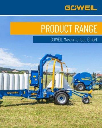 Product Range | Goeweil