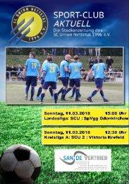 SPORT-CLUB AKTUELL - SAISON 17/18 - AUSGABE 11