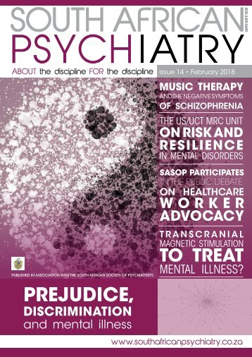 South African Psychiatry - February 2018 Edition