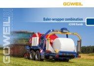 EN | Baler-wrapper Combination | G5040 Kombi | Goeweil