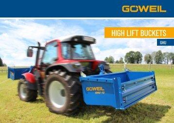 High lift bucket | GHU | Goeweil