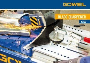 Blade sharpener | MS 100 | Goeweil