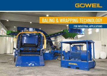 Industrial Baling & wrapping technology | Goeweil