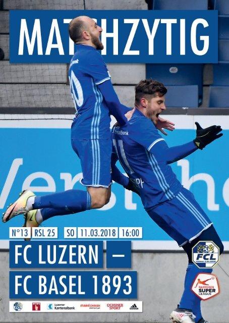 FC LUZERN MATCHZYTIG N°13 (RSL 25)