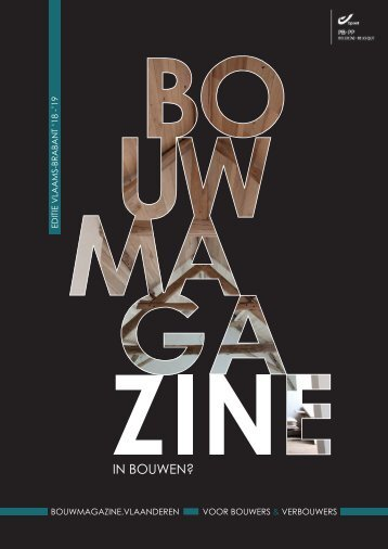 BouwMagazine Vlaams-Brabant 2018-2019