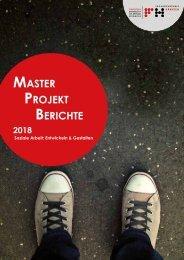 Soziale Arbeit: Master-Projekt-Bericht 2018