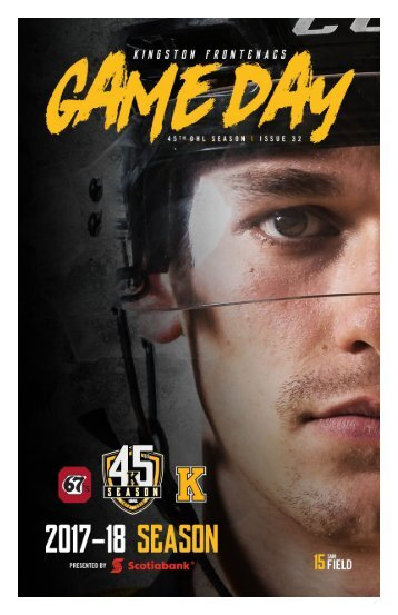 Kingston Frontenacs GameDay March 9, 2018