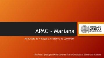 APAC - Mariana- Apresentação 07032018.