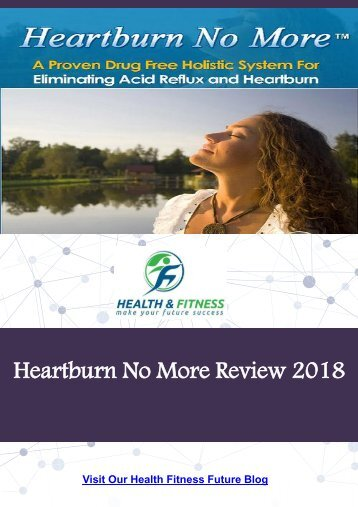 Heartburn No More Review 2018