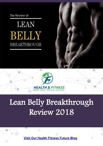 Lean Belly Breakthrough Review 2018