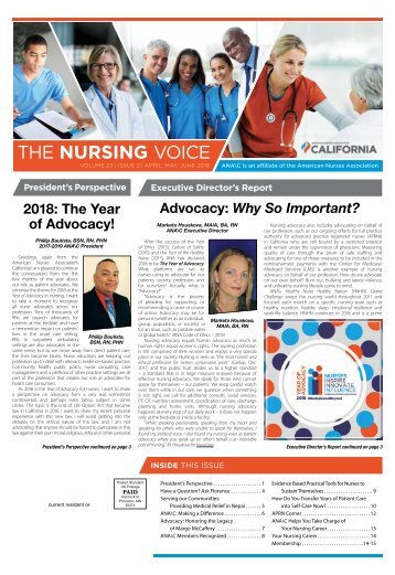 The Nursing Voice - April 2018