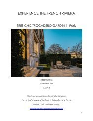 Tres Chic Trocadero Garden - Paris