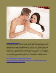 Invigorise Male Enhancement - How Does It Work