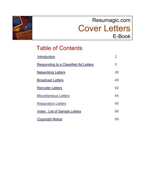 How To Write A Cover Letter Resume And Cover Letter Writing Guides