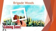 brigade woods Flats in Bangalore