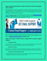 AT&T mail support phone number 1-888-664-3555