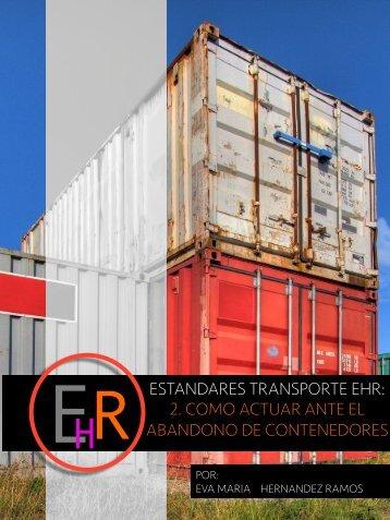 4. ESTANDARES EHR. ABANDONO DE CONTENEDORES