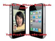 How To Fix iPhone Error Code 1015 Call 1-800-694-2968 Toll-Free