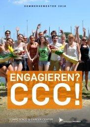 Programm Sommersemester 2018 - Competence & Career Center Hochschule RheinMain
