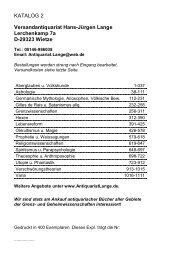 Occulta-Antiquariats-Katalog 2