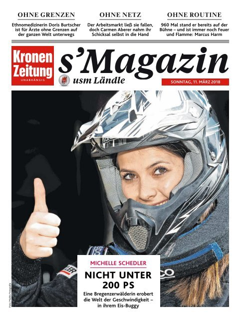 s'Magazin usm Ländle, 11. März 2018