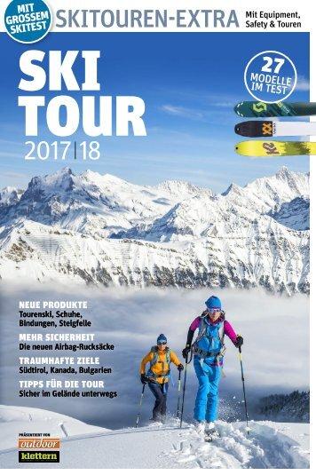 planetSNOW - Skitouren-Extra 2017-18