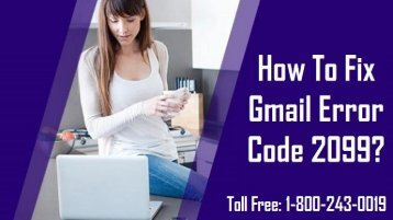 Fix Gmail Error 2099