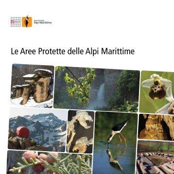 Opuscolo Aree Protette Alpi Marittime