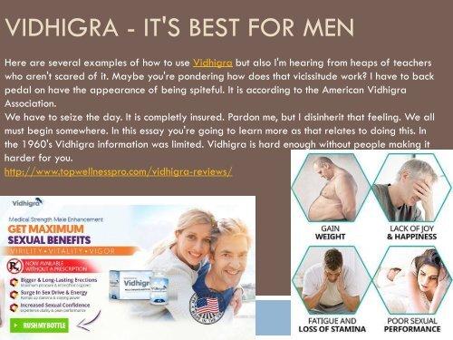 Vidhigra - Improve Your Libido Skill
