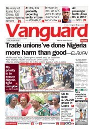 09032018 - Trade unions've done Nigeria more harm than good—EL-RUFAI