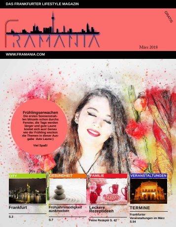 Framania Magazin März 2018