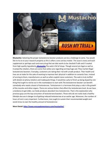 mustachio - Increase Testosterone Level