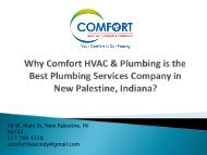 Why Comfort HVAC & Plumbing is the Best