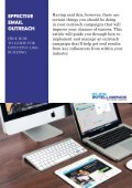 A Guide to: Effective Email Outreach - Page 3