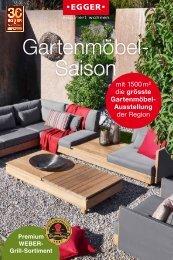 Gartenmöbel-Katalog 2018