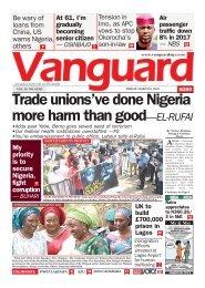 09032018 - Trade unions've done Nigeria more harm than good - El Rufai