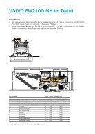 Volvo Mobilbagger EW210D MH - Datenblatt / Produktbeschreibung - Page 5