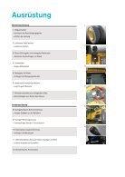 Volvo Mobilbagger EW210D MH - Datenblatt / Produktbeschreibung - Page 7