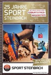 25 Jahre Sport Steinbach