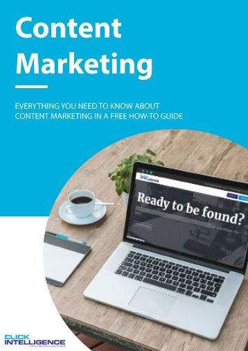 A Guide to: Content Marketing