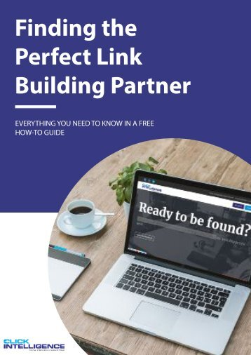 A Guide to: Finding the Perfect Link Building Partner