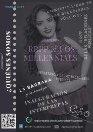 Revista RRPP & LOS MILLENNIALS