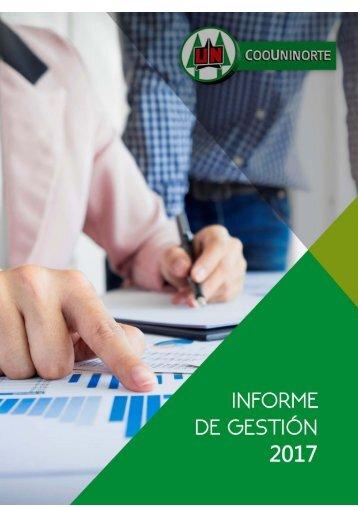 INFORME DE GESTION 2017 - provisional