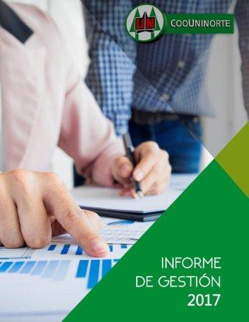 INFORME DE GESTION 2017 provisional