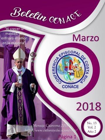 Boletin CONACE Marzo 2018