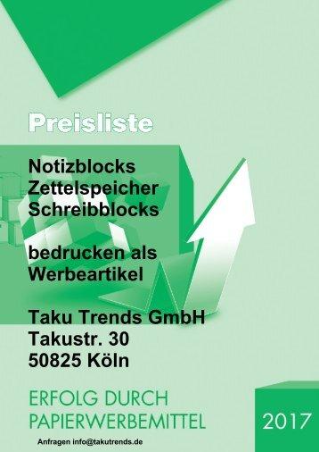 Notizblocks bedrucken als Werbeartikel