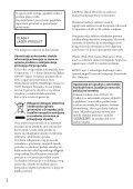 Sony CDX-GT564UI - CDX-GT564UI Mode d'emploi Serbe - Page 2