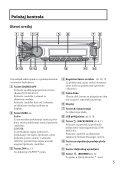 Sony CDX-GT564UI - CDX-GT564UI Mode d'emploi Serbe - Page 5