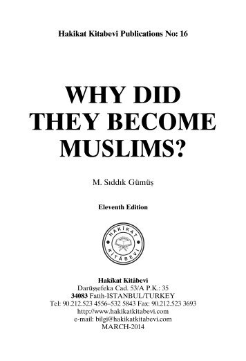 Why Did They Become Muslims