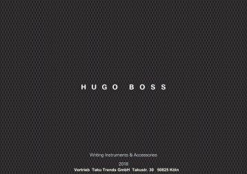 Hugo Boss Werbeartikel Kugelschreiber Mappen Accessoires
